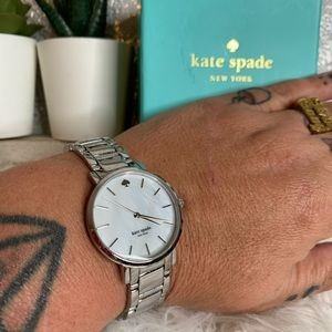 Kate Spade Silver Plated Link Watch